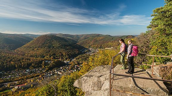 Hiking Trails along the German Wine Route